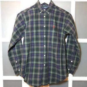 Boy's medium/10-12 Ralph Lauren button down shirt